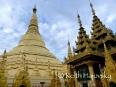 Shwedagon Pagaoda in Yangon, Myanmar