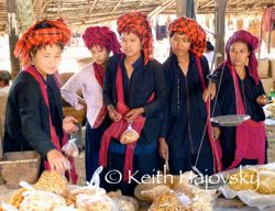 Market in Inle, Myanmar. Photo courtesy Travel Sherpa Keith